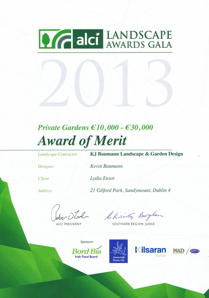 Garden Design & Landscaping Award