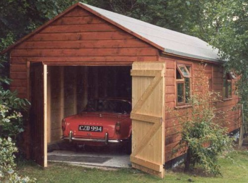 Car Garage shed Large