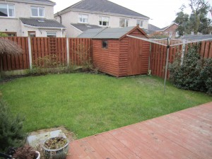 Low maintenance garden design, Clonsilla, Dublin.