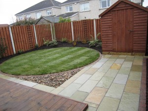 Low maintenance garden design, Clonsilla, Dublin
