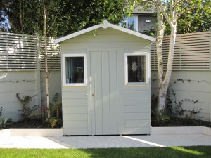 Baumanns custom built garden shed