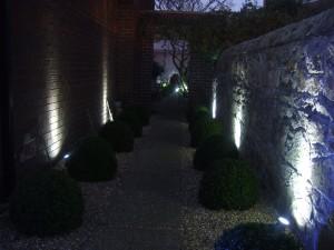 Garden Design Outdoor Lighting Leeson Village