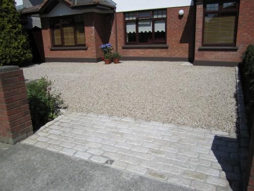 Gravel driveway
