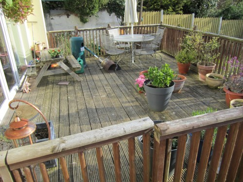 Patios and Paving Before Work