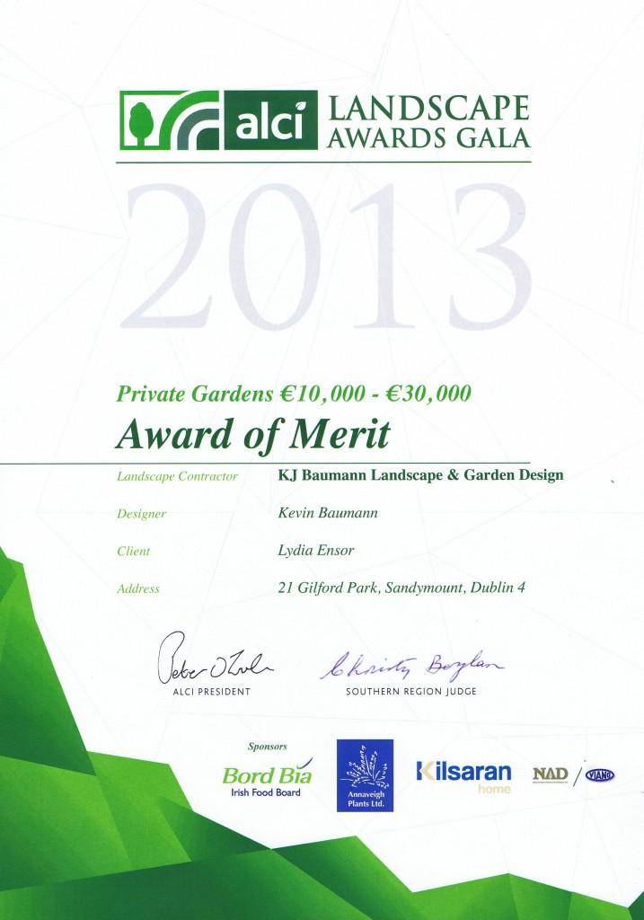 Garden Design & Landscaping Award