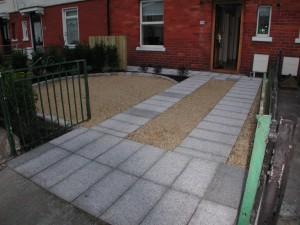 Front garden after landscaping