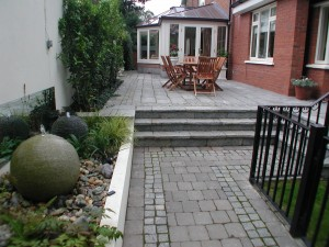 Granite Patio and Steps