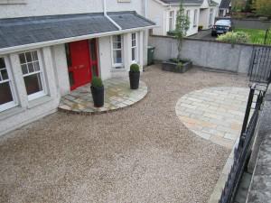 Ballylusk gravel driveway