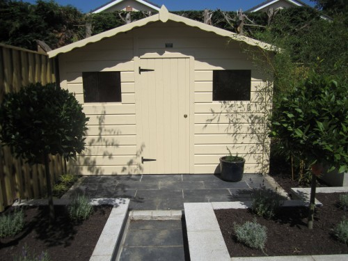 Feature Garden Shed