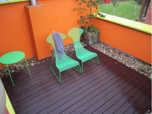 Rooftop garden, Carrickmines, Dublin
